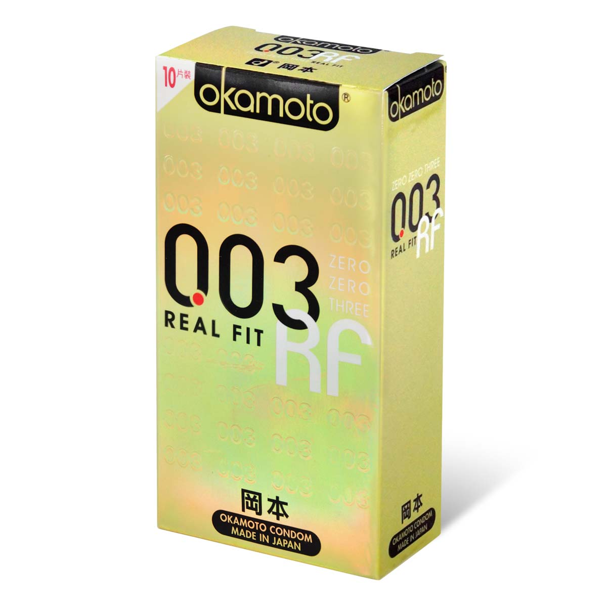 Okamoto 0.03 Real Fit 10's Pack Latex Condom