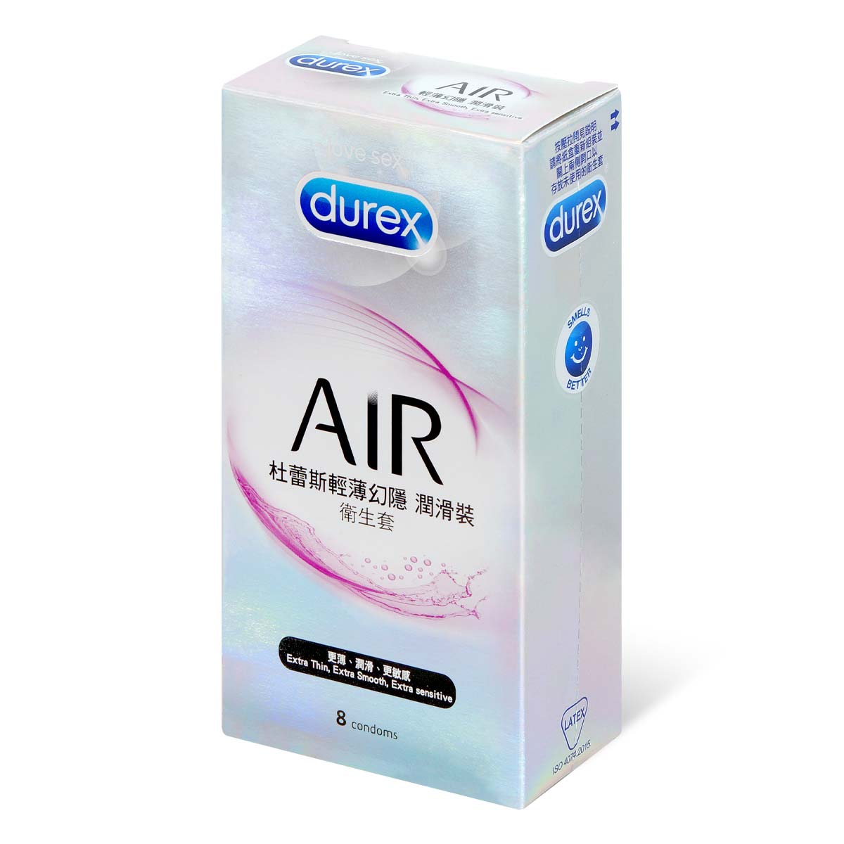 Durex Air Extra Smooth 8's pack Latex Condom