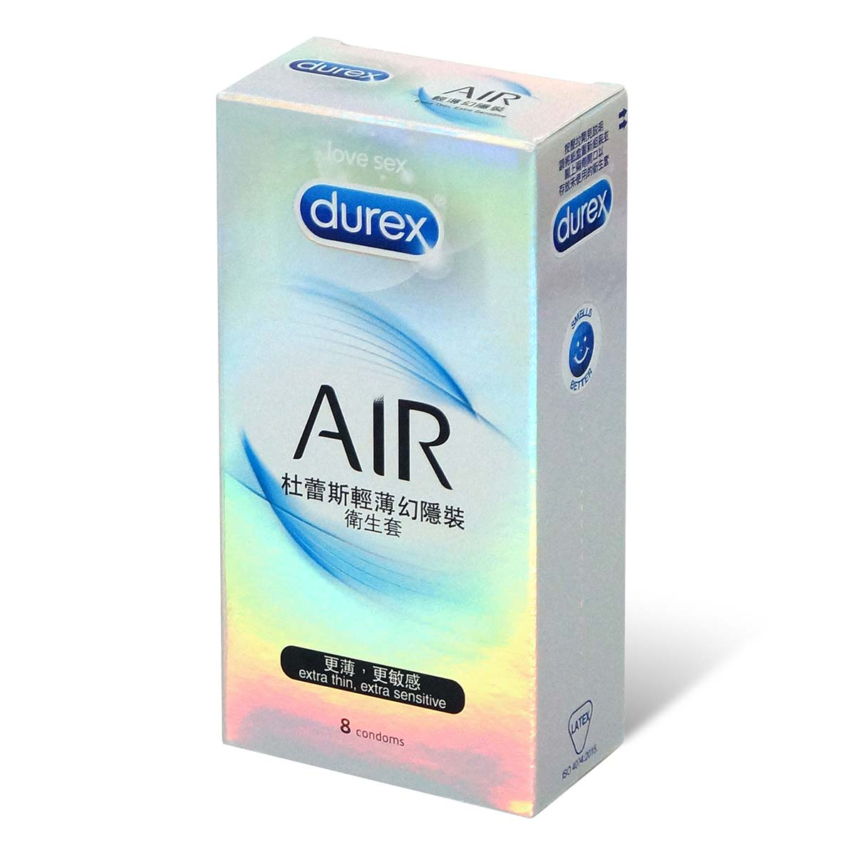 Durex Air 8's pack Latex Condom