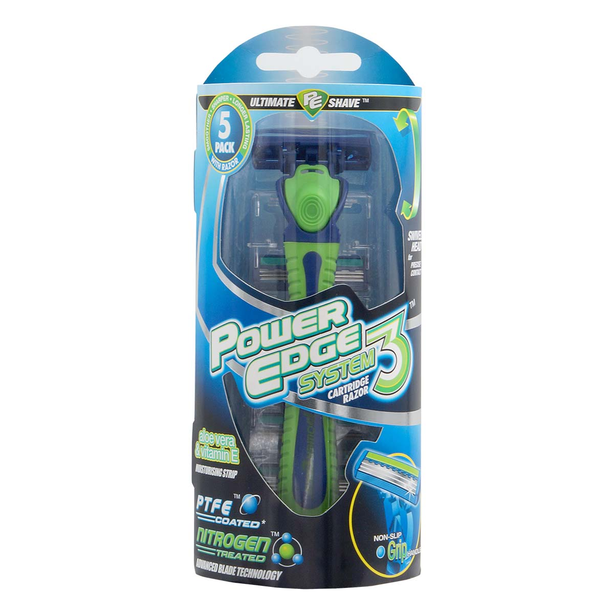 Power Edge System 3 Cartridge Razor