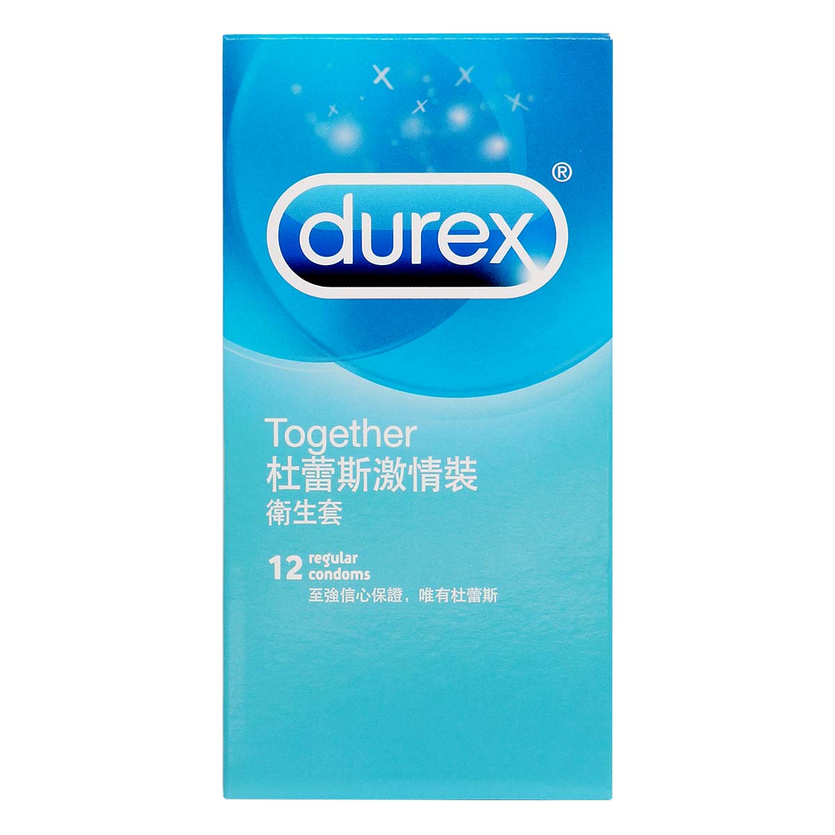 Durex Together 12's Pack Latex Condom